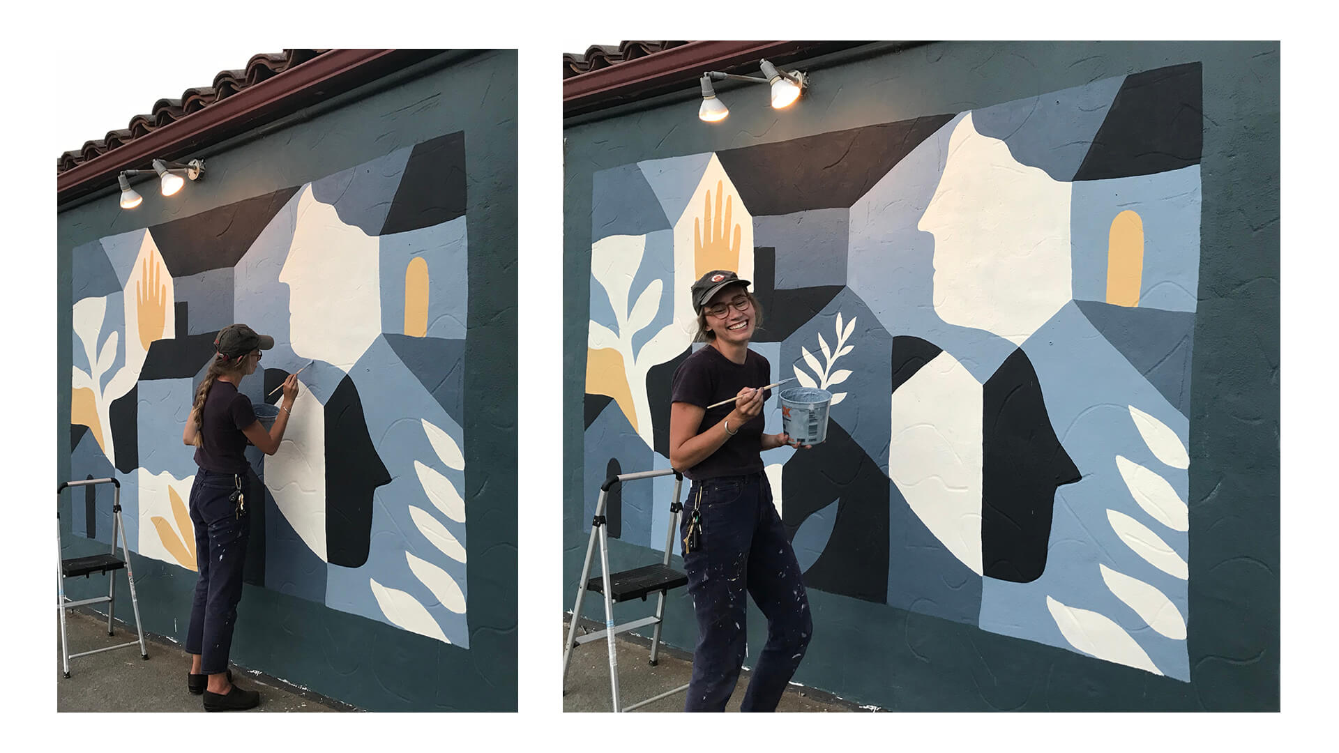 mural painting process website